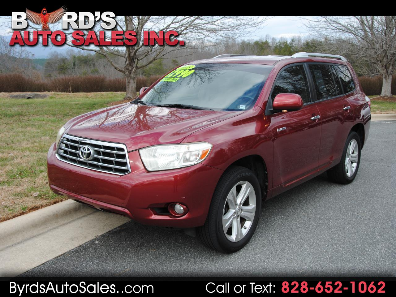 Toyota Highlander 4WD 4dr Limited (Natl) 2008
