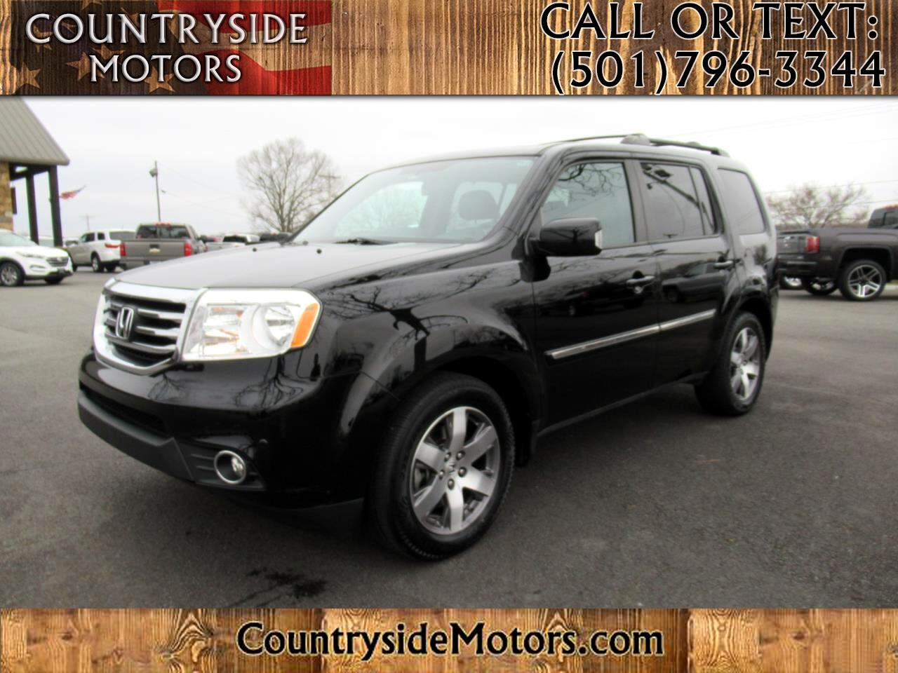 2014 Honda Pilot Touring 4WD with DVD