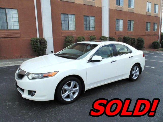 2010 Acura TSX 5-Speed AT with Tech Package