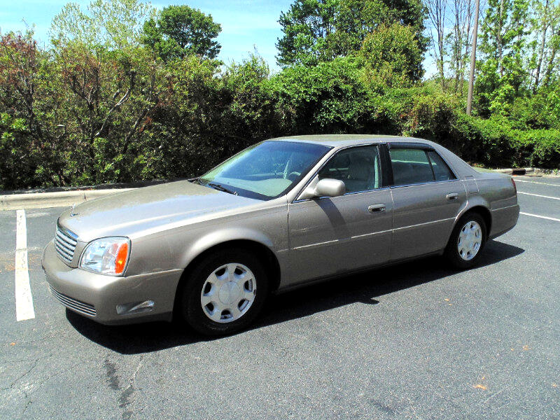2001 Cadillac DeVille Luxury Sedan