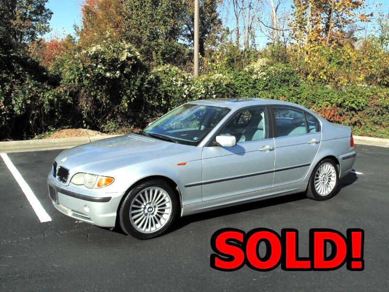 BMW 3-Series 330i Sedan 2002