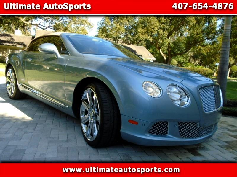 2013 Bentley Continental GT 2dr Conv