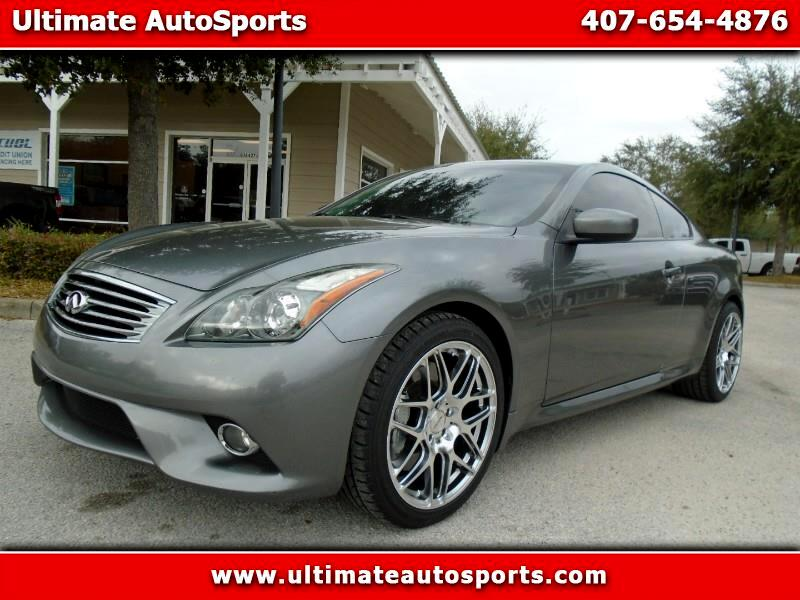 2012 Infiniti G37 Coupe 2dr Sport