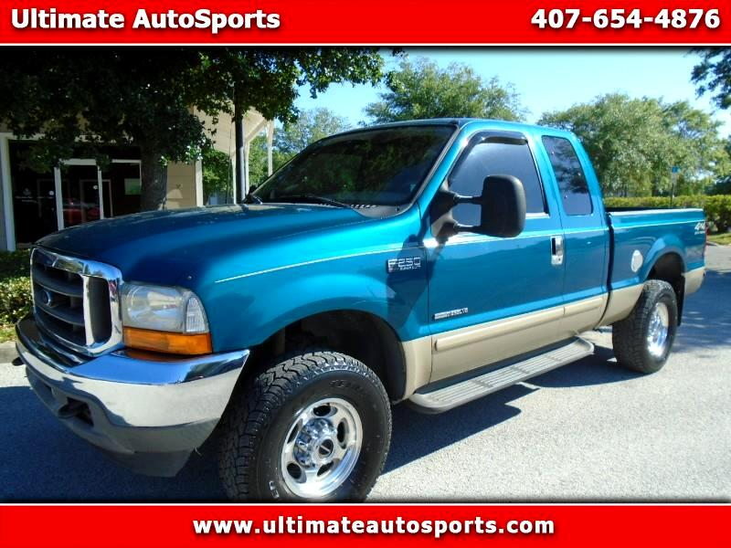 """2001 Ford Super Duty F-250 Supercab 142"""" Lariat 4WD"""