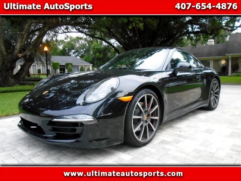 2014 Porsche 911 2dr Cpe Carrera 4S