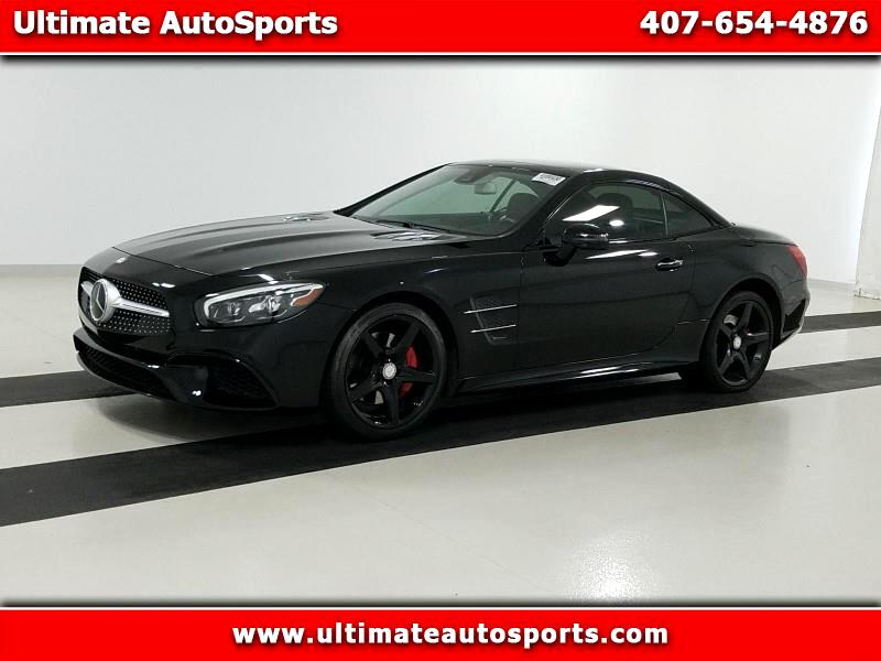 2017 Mercedes-Benz SL SL 550 Roadster