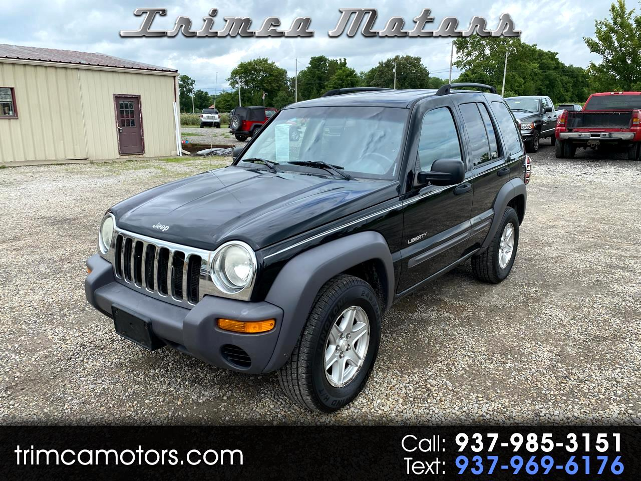 Jeep Liberty 4dr Sport 4WD 2004