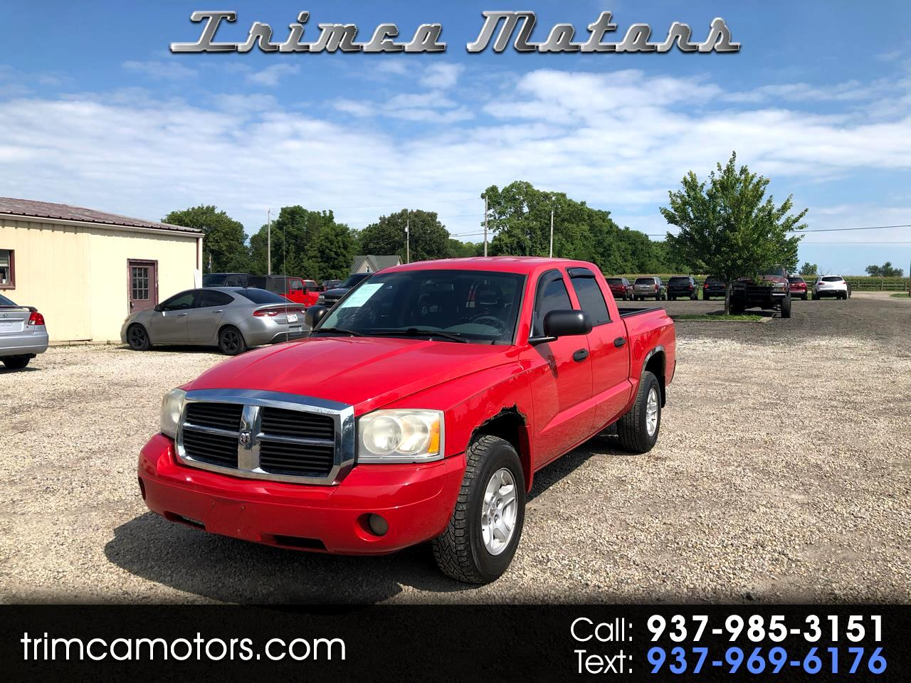 "Dodge Dakota 4WD Quad Cab 131"" SLT 2007"