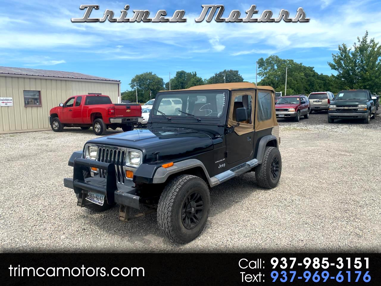 Jeep Wrangler 2dr S 1995