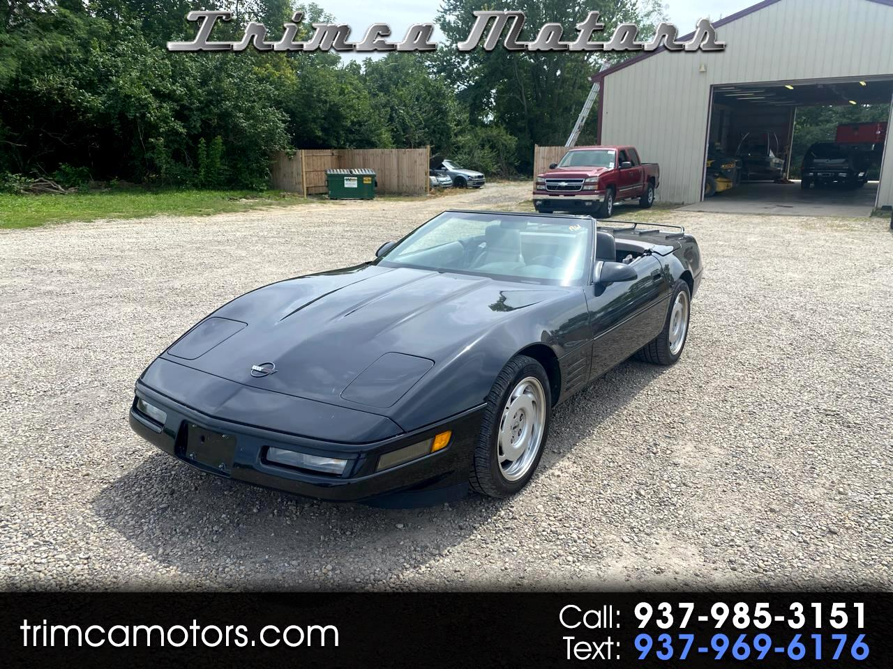 Chevrolet Corvette 2dr Convertible 1991
