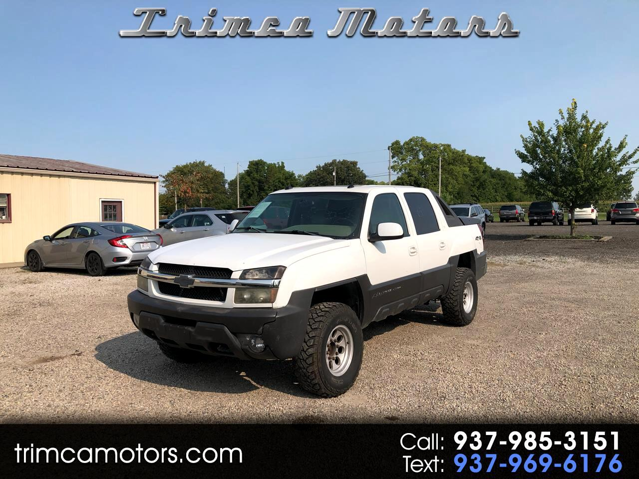 "Chevrolet Avalanche 2500 5dr Crew Cab 130"" WB 4WD LT 2005"