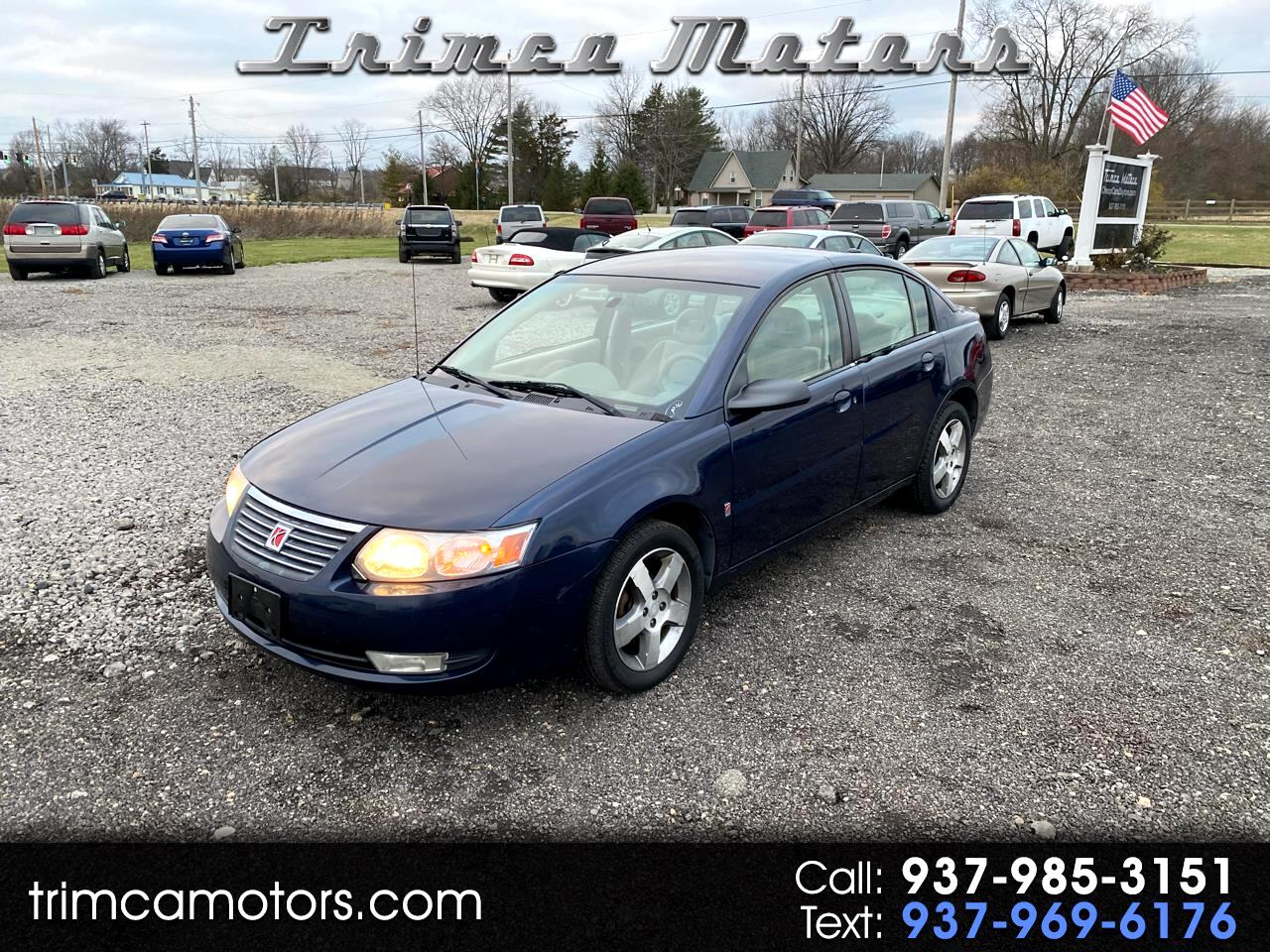 Saturn ION 4dr Sdn Manual ION 3 *Ltd Avail* 2007