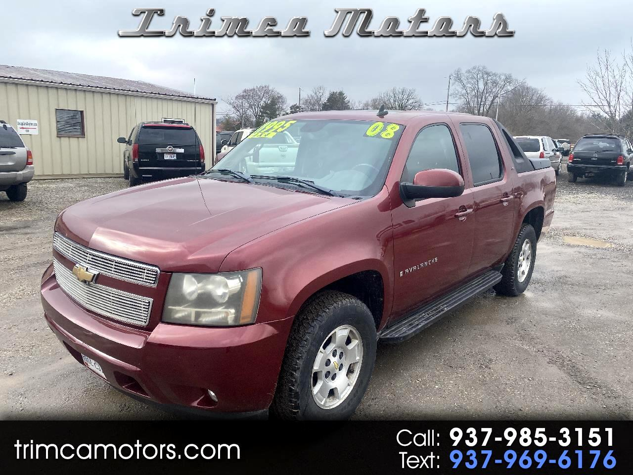 "Chevrolet Avalanche 4WD Crew Cab 130"" LT w/1LT 2008"