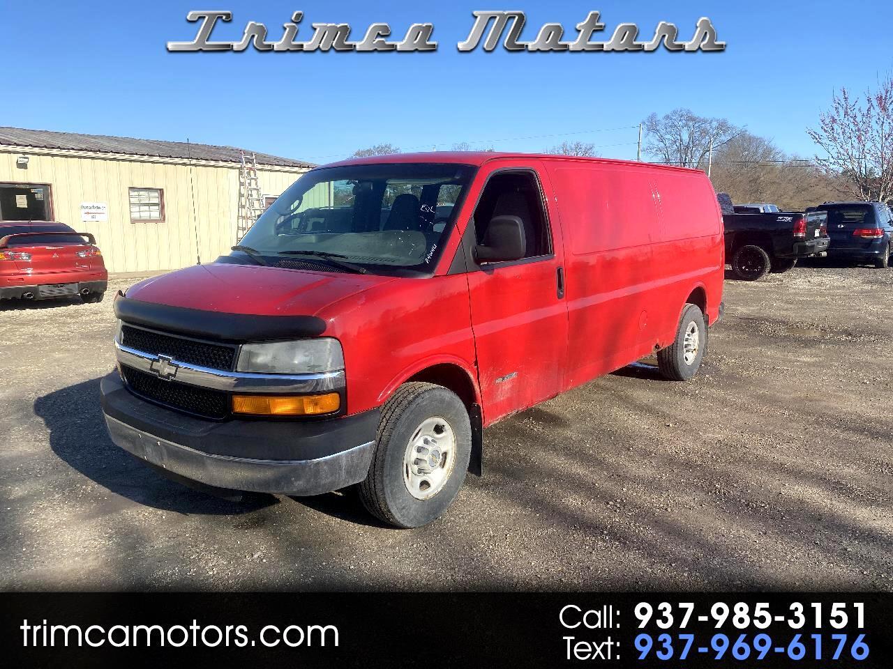 "Chevrolet Express Cargo Van 3500 155"" WB RWD 2004"