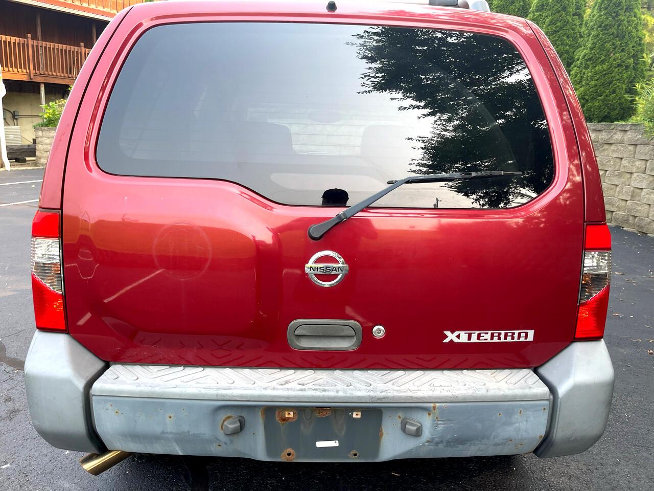 Nissan Xterra 4dr XE 4WD V6 Auto 2004