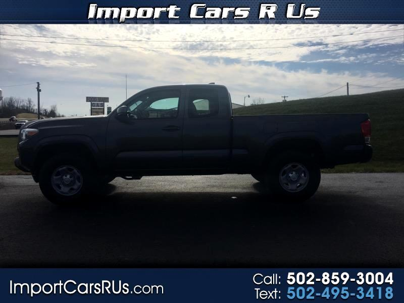 2017 Toyota Tacoma SR5 Access Cab 6' Bed I4 4x4 AT (Natl)