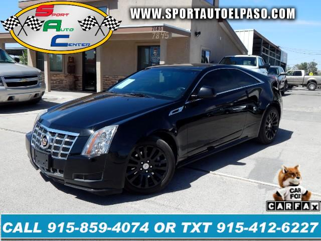 2013 Cadillac CTS Base Coupe