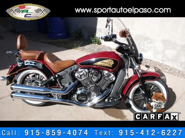 2017 Indian Scout W/ABS