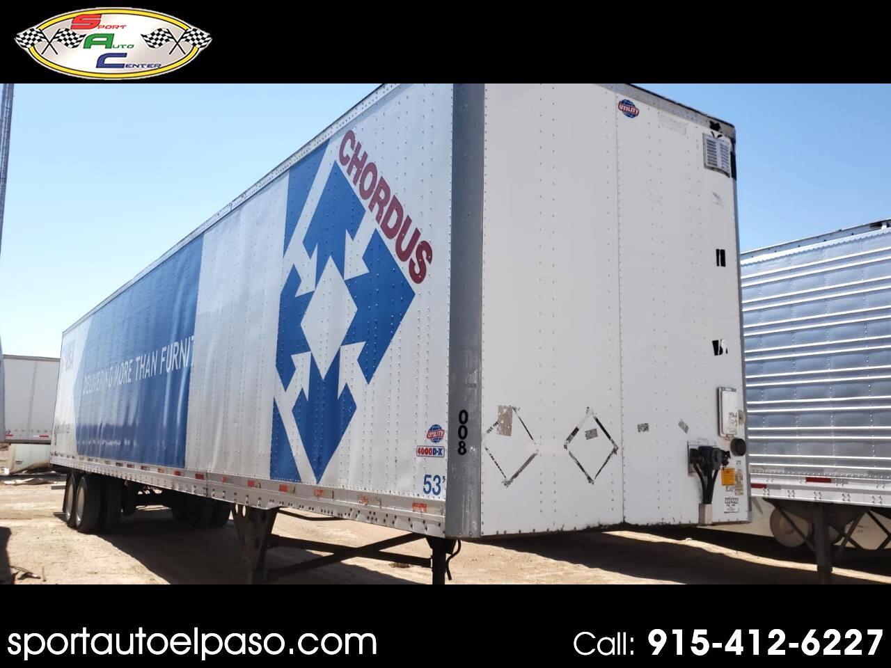 2009 Utility Trailer Utility Dryvan