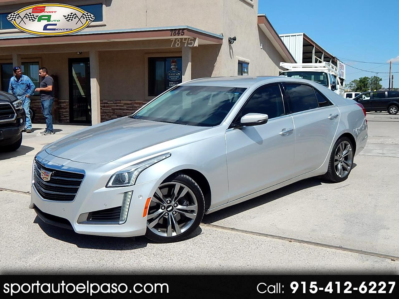 2015 Cadillac CTS 3.6L Twin Turbo Vsport RWD