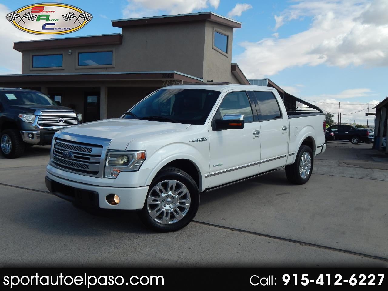 Ford F-150 Platinum SuperCrew 5.5-ft. Bed 2WD 2014
