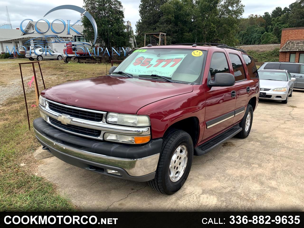 2005 Chevrolet Tahoe 1500 4dr 4WD