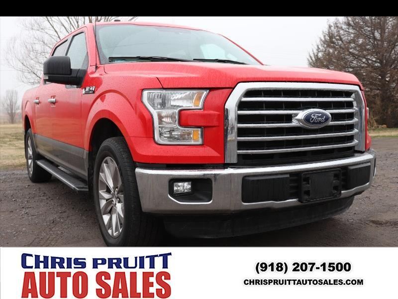 2016 Ford F-150 King Ranch SuperCrew 6.5-ft. 2WD