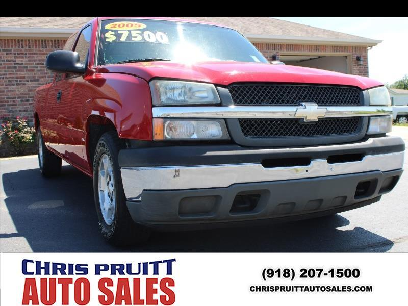 2005 Chevrolet Silverado 1500 Work Truck Ext. Cab Long Bed 2WD