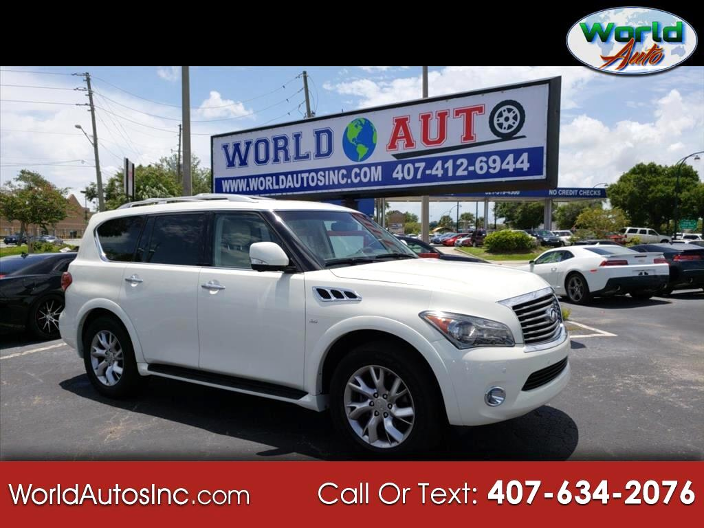 2014 Infiniti QX80 4WD 4dr Limited