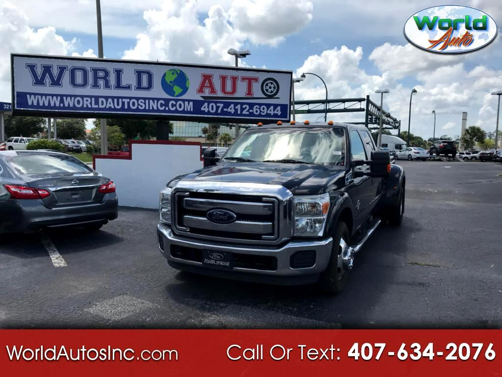 2014 Ford F-350 SD King Ranch Crew Cab Long Bed DRW 2WD