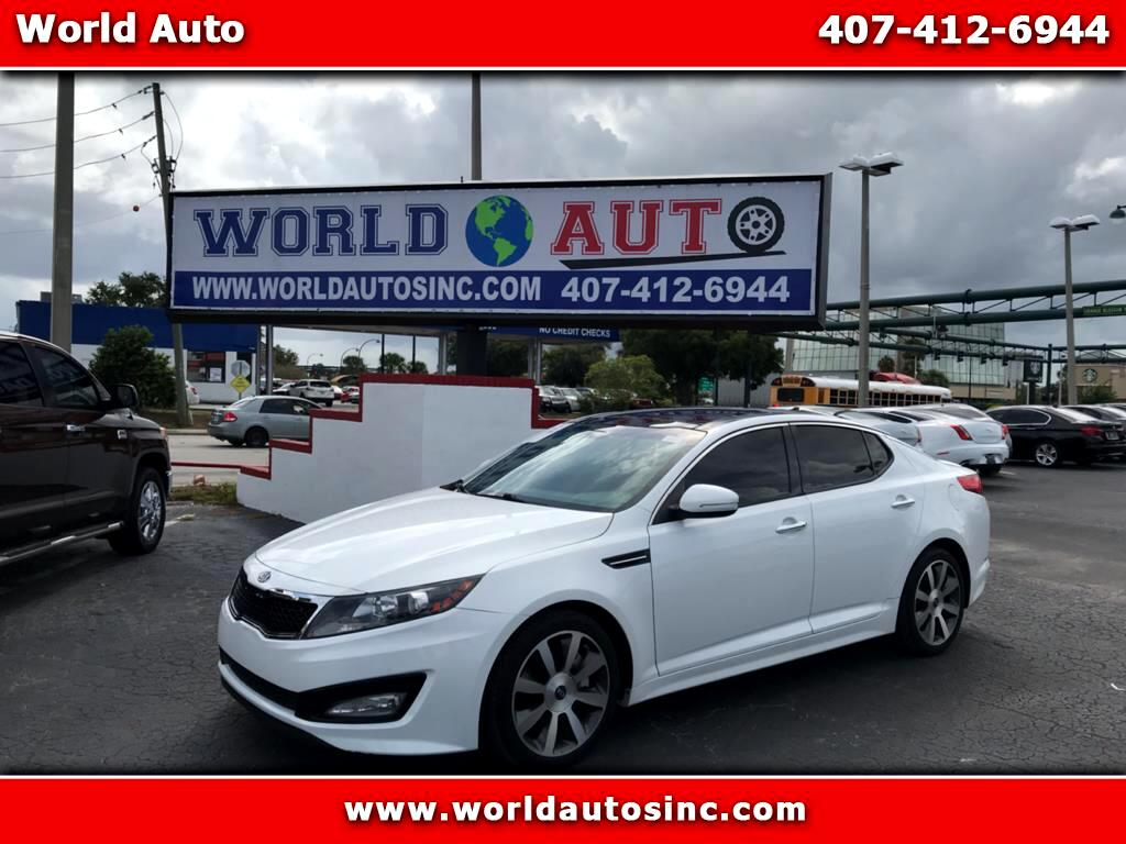 2012 Kia Optima 4dr Sdn SX Turbo