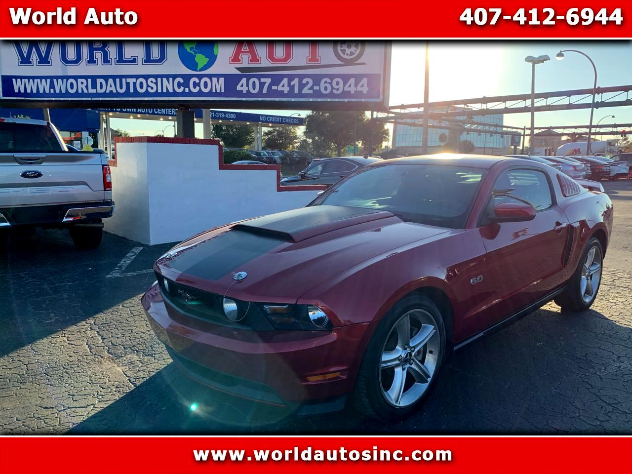 2011 Ford Mustang PREMIUM GT
