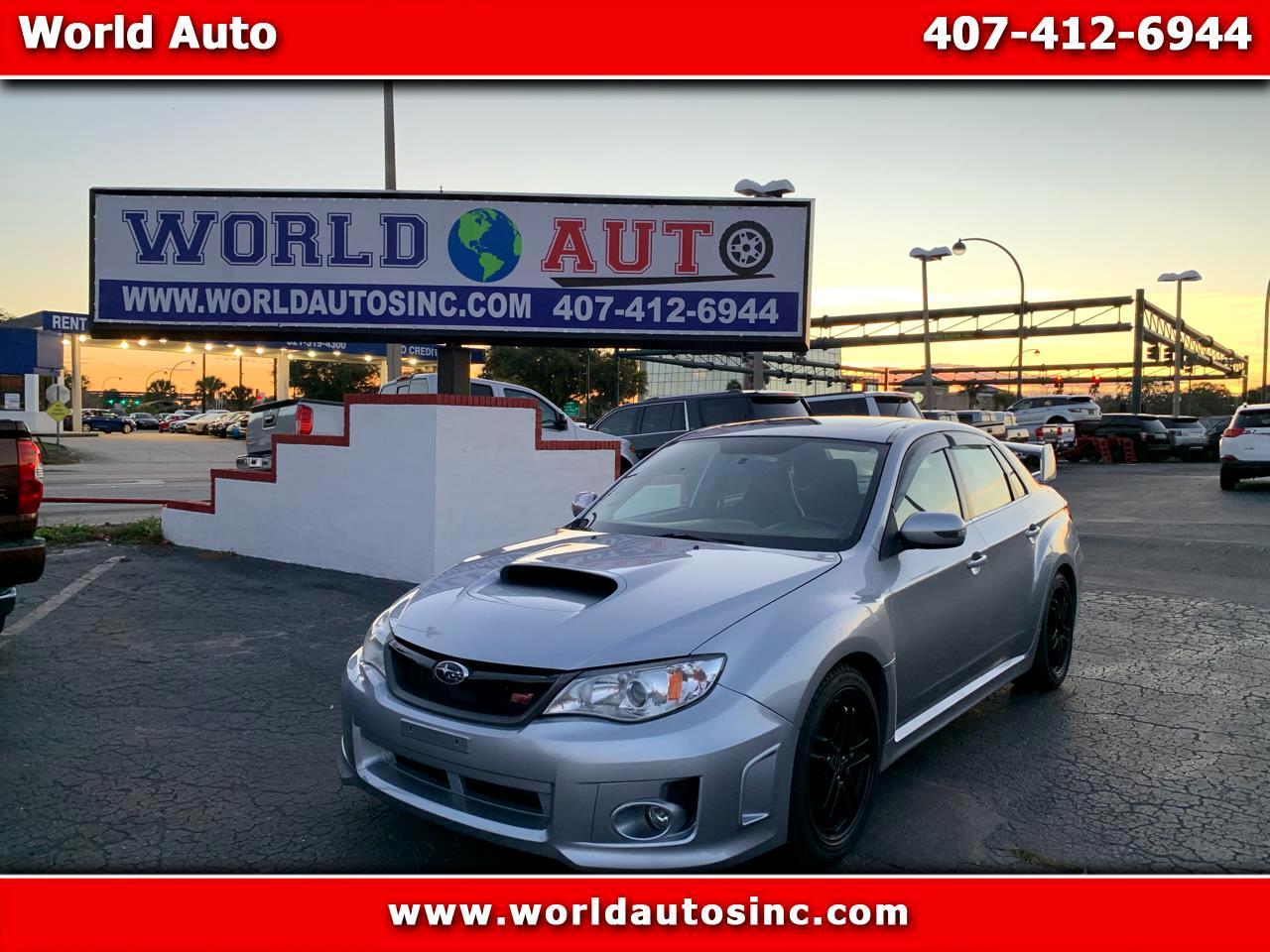 2012 Subaru Impreza WRX STI 4-Door