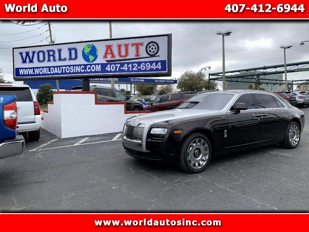 2014 Rolls-Royce Ghost Extended Wheelbase
