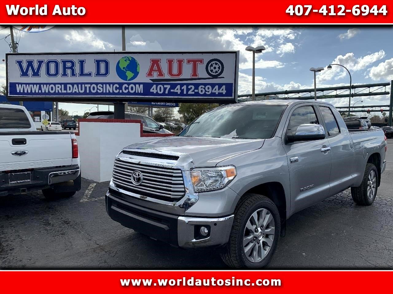 2016 Toyota Tundra Limited 5.7L Double Cab 2WD
