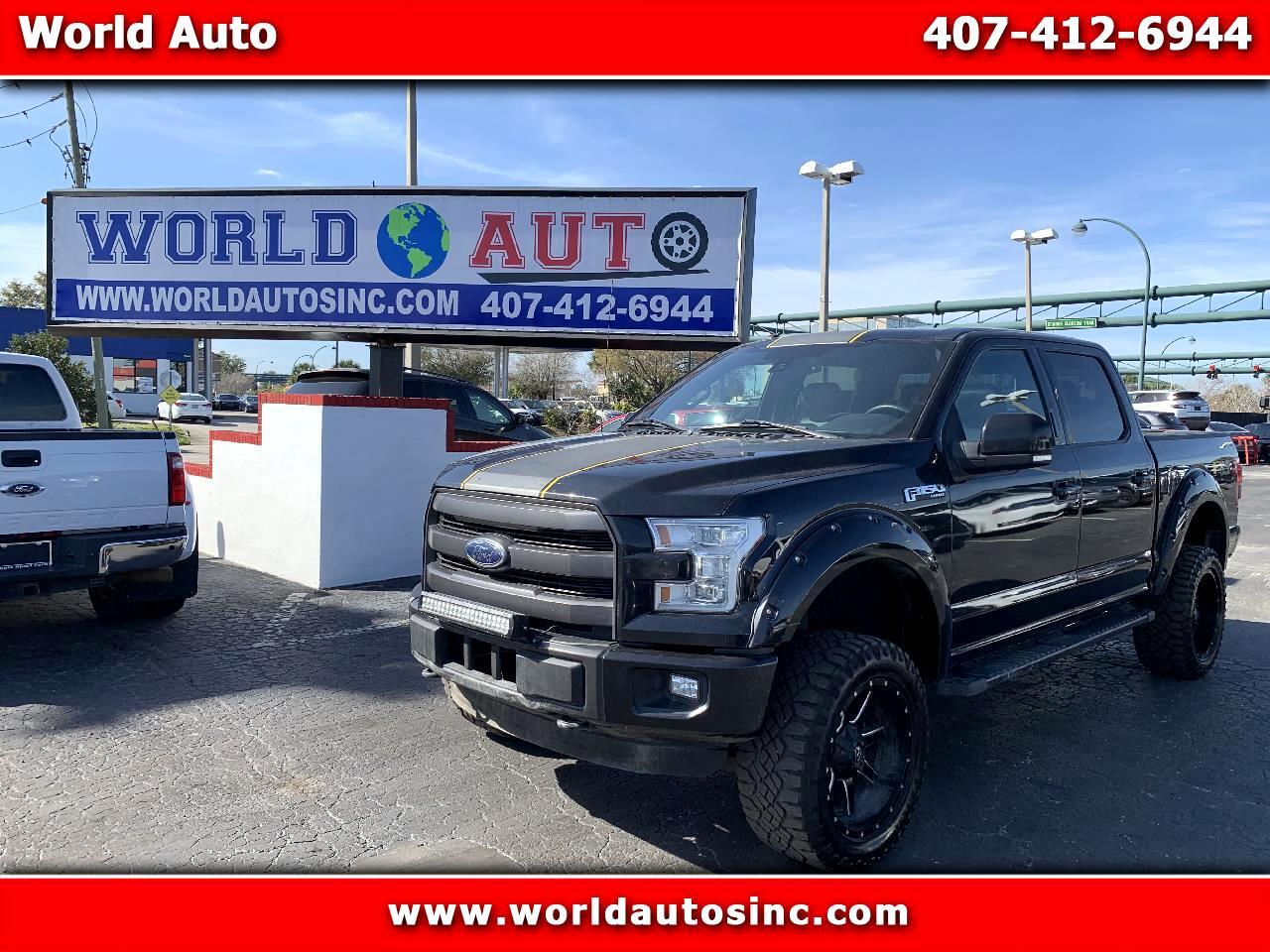 2015 Ford F-150 Lariat SuperCrew Short Box 4WD