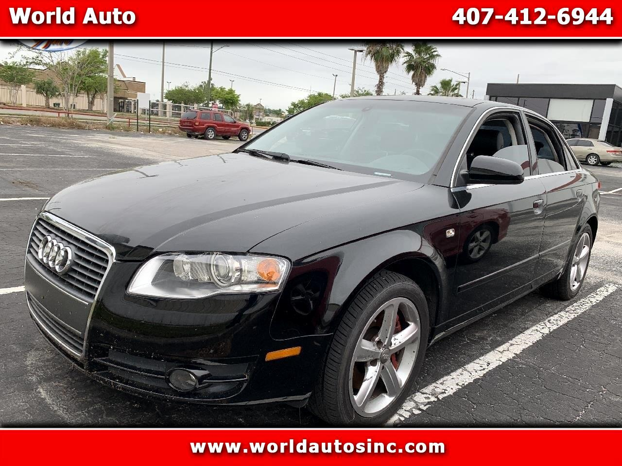 2007 Audi A4 3.2 with Multitronic