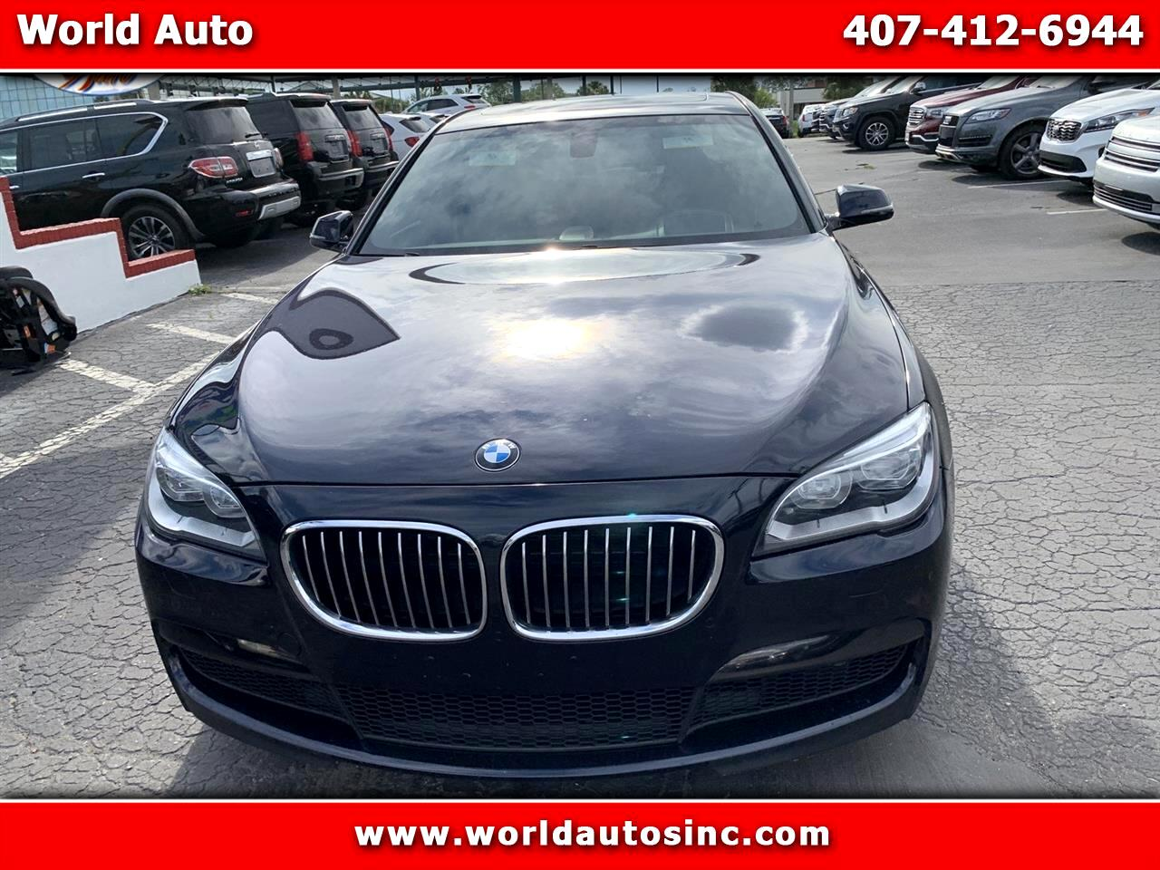 2013 BMW 750i M Package