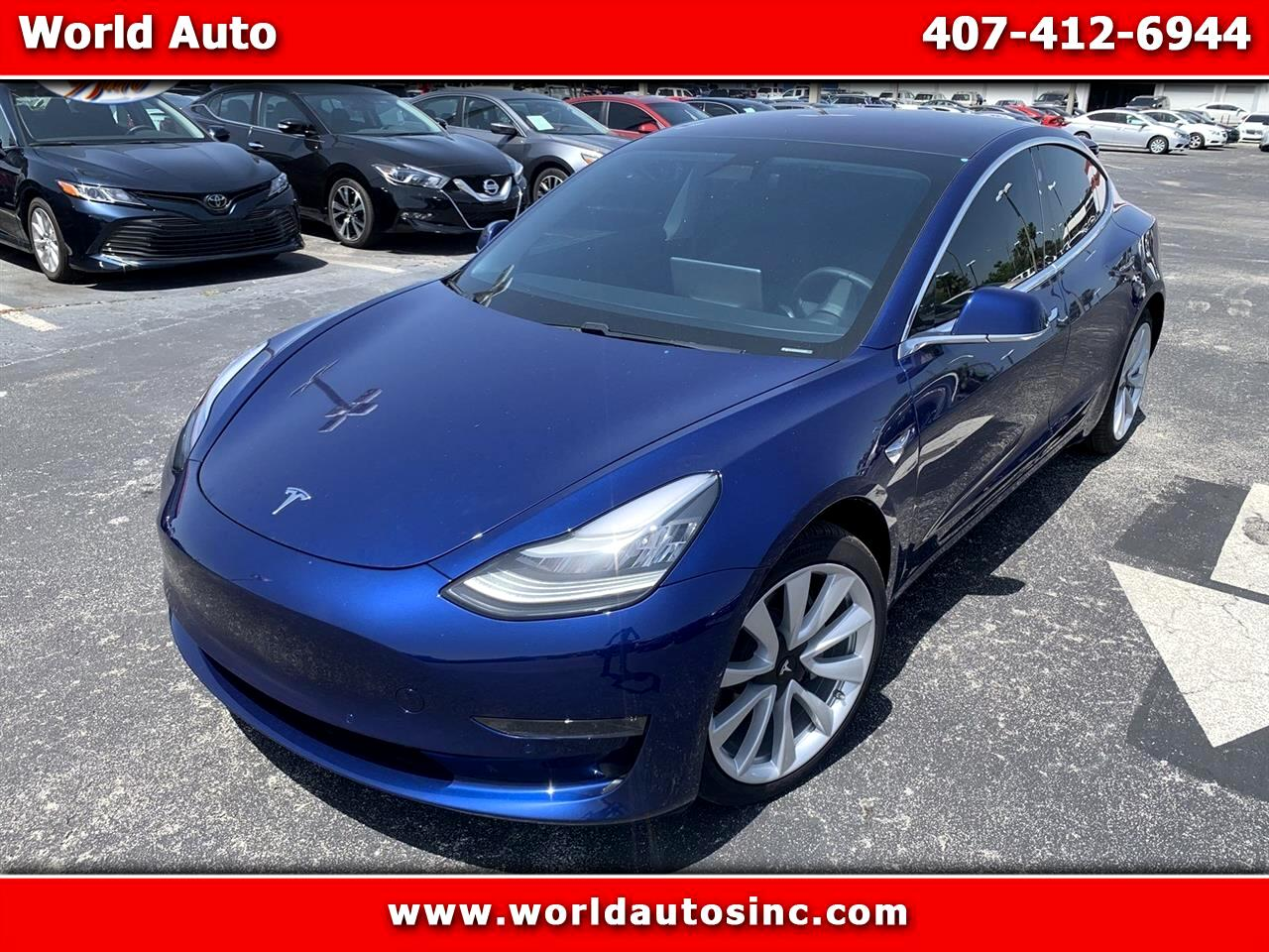 2018 Tesla Model 3 Mid Range RWD