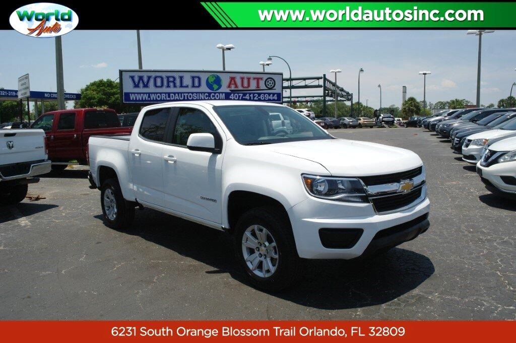 Chevrolet Colorado LT Crew Cab 2WD Long Box 2019