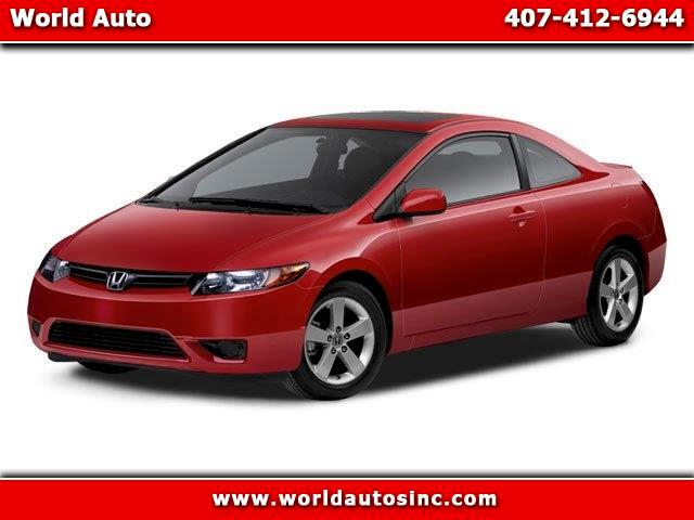 2008 Honda Civic EX coupe
