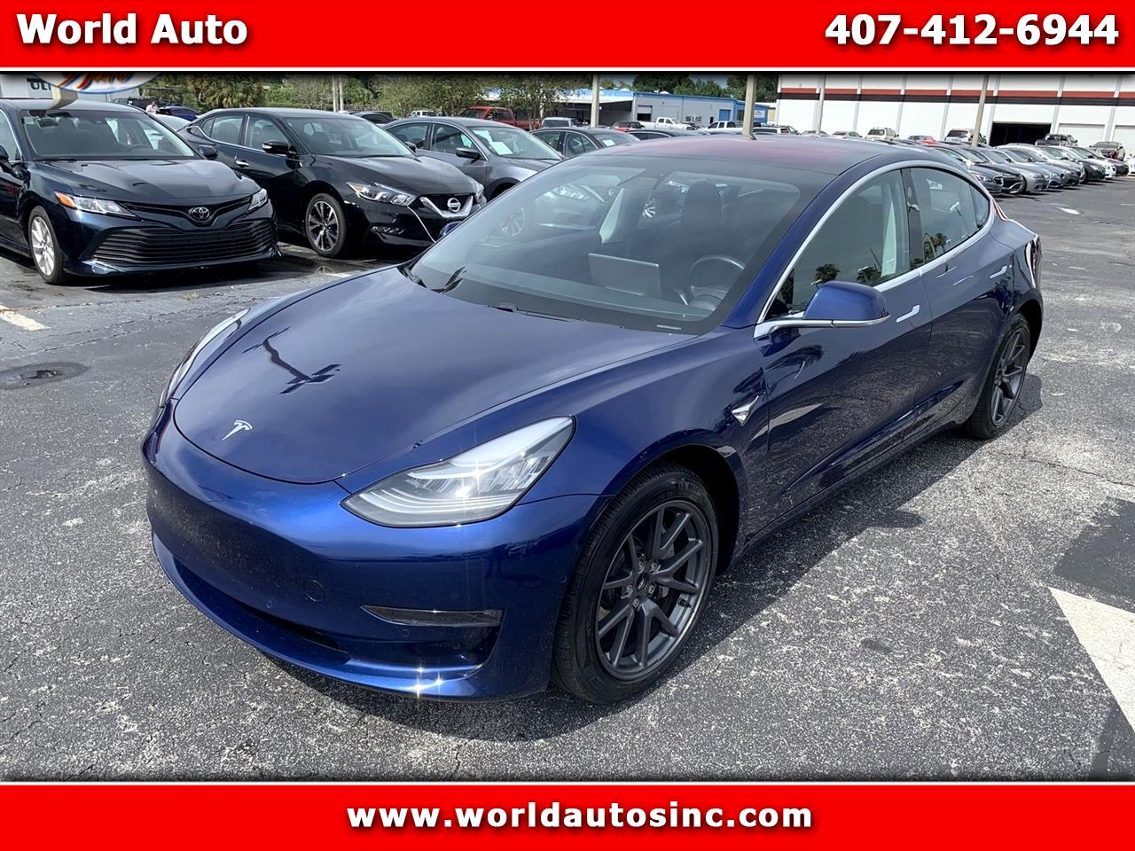 2018 Tesla Model 3 Long Range Battery AWD