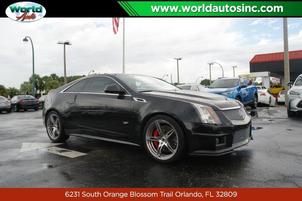 Used 2014 Cadillac CTS V Coupe for Sale in Orlando FL ...