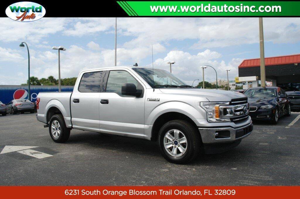 Ford F-150 Lariat SuperCrew 5.5-ft. Bed 2WD 2019
