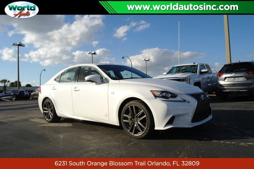 Lexus IS 350 RWD 2016