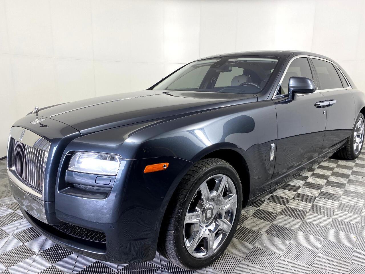 Rolls-Royce Ghost Extended Wheelbase 2012