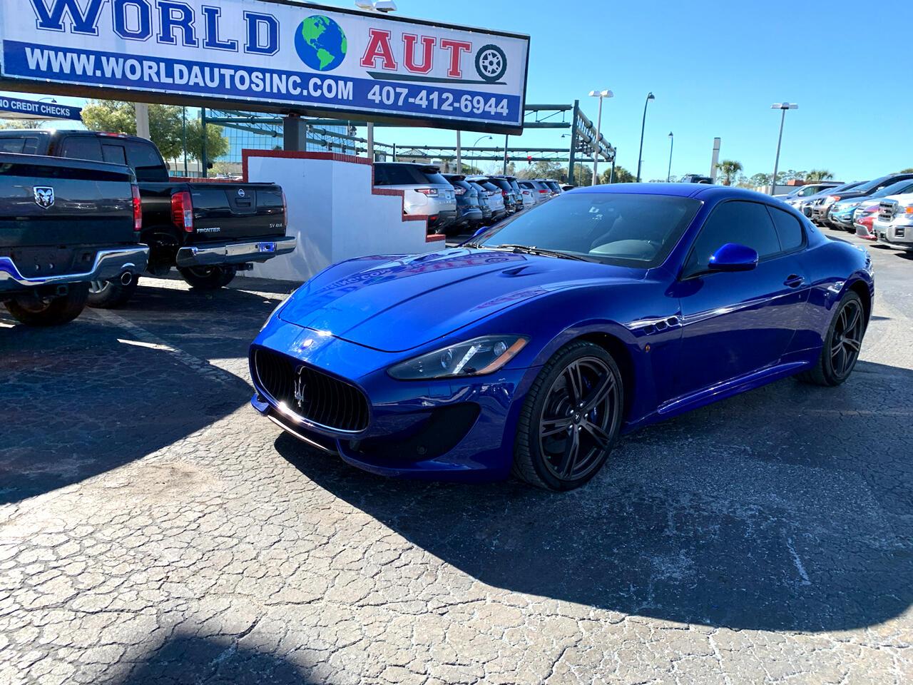 Maserati GranTurismo MC Coupe 2017