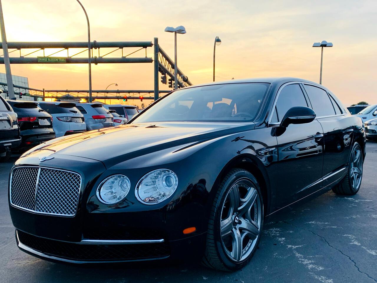 Bentley Continental Flying Spur Sedan 2014