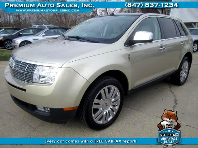 2010 Lincoln MKX AWD NAVIGATION PANO ROOF
