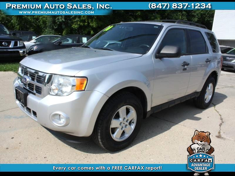 2010 Ford Escape XLT 4WD W LEATHER AND SUNROOF